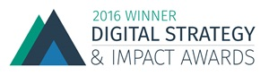 2016 Winner Digital Strategy & Impact Awards
