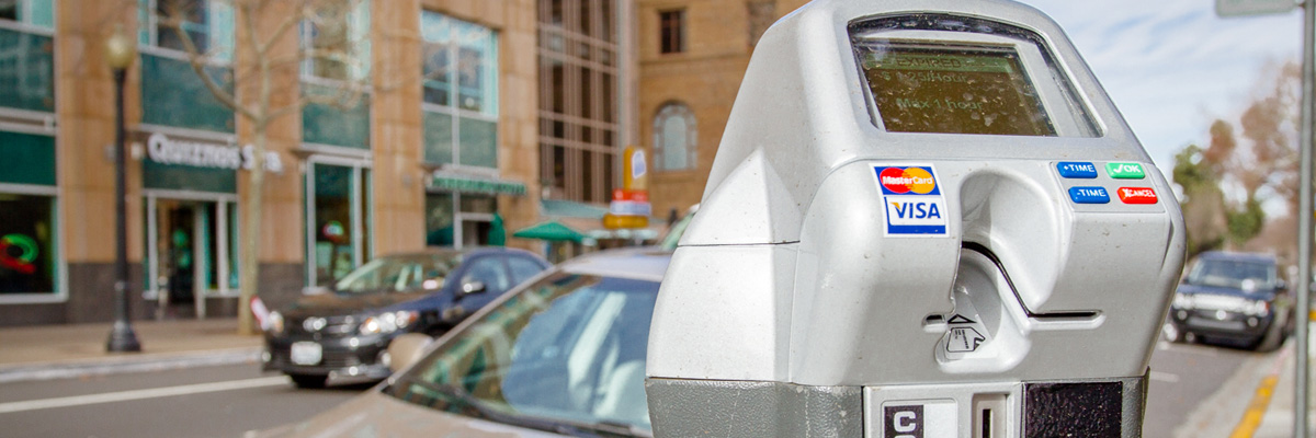 "Sacramento's new ""smart"" parking meter"