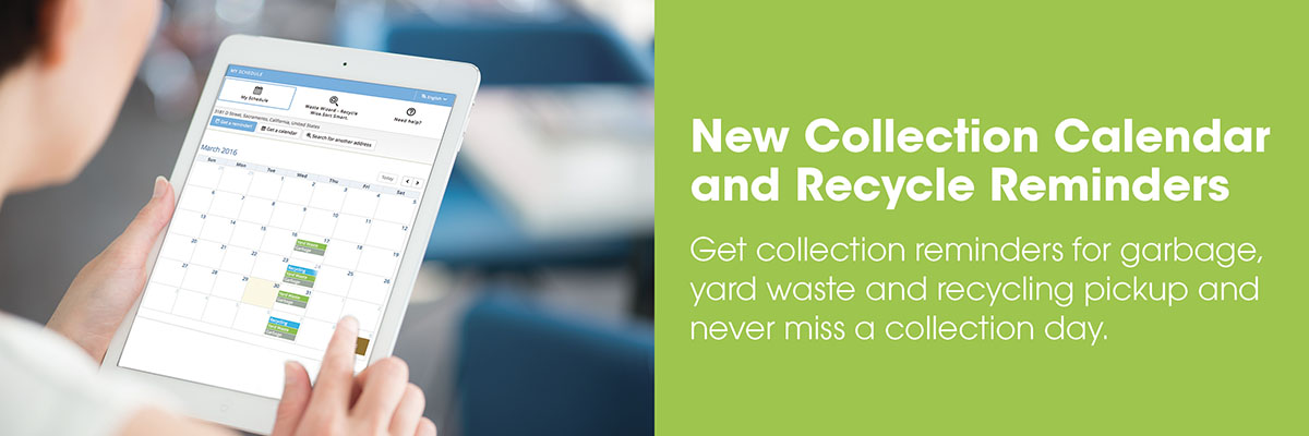 Collection Calendar and Recycle Reminders