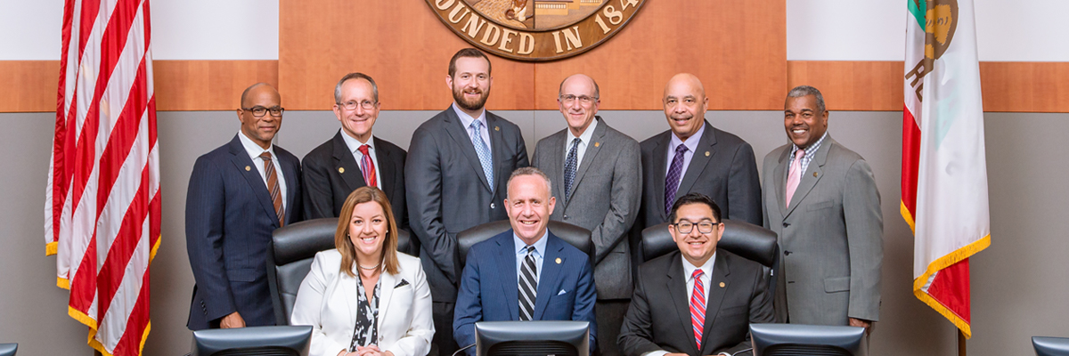 2017 Sacramento City Council Members