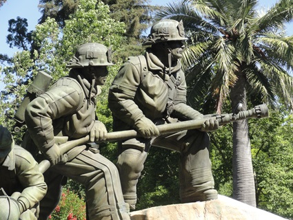 Calif Firefighters Memorial