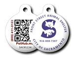 PetHub Digital Pet License Tag Front Street Animal Shelter