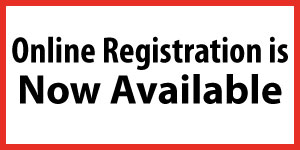 Online Registration is Now Available