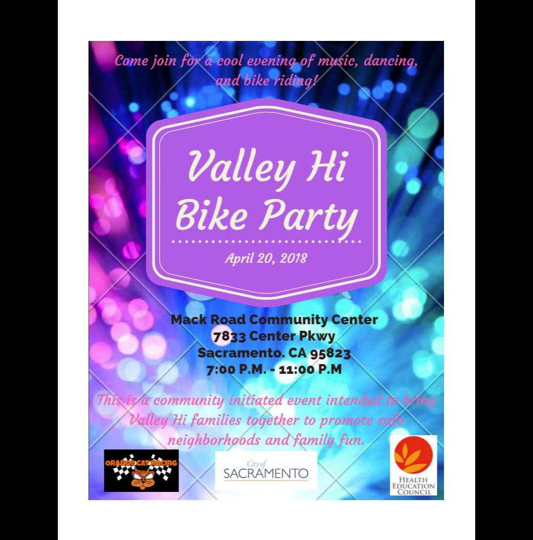 Valley Hi Bike Party 2018