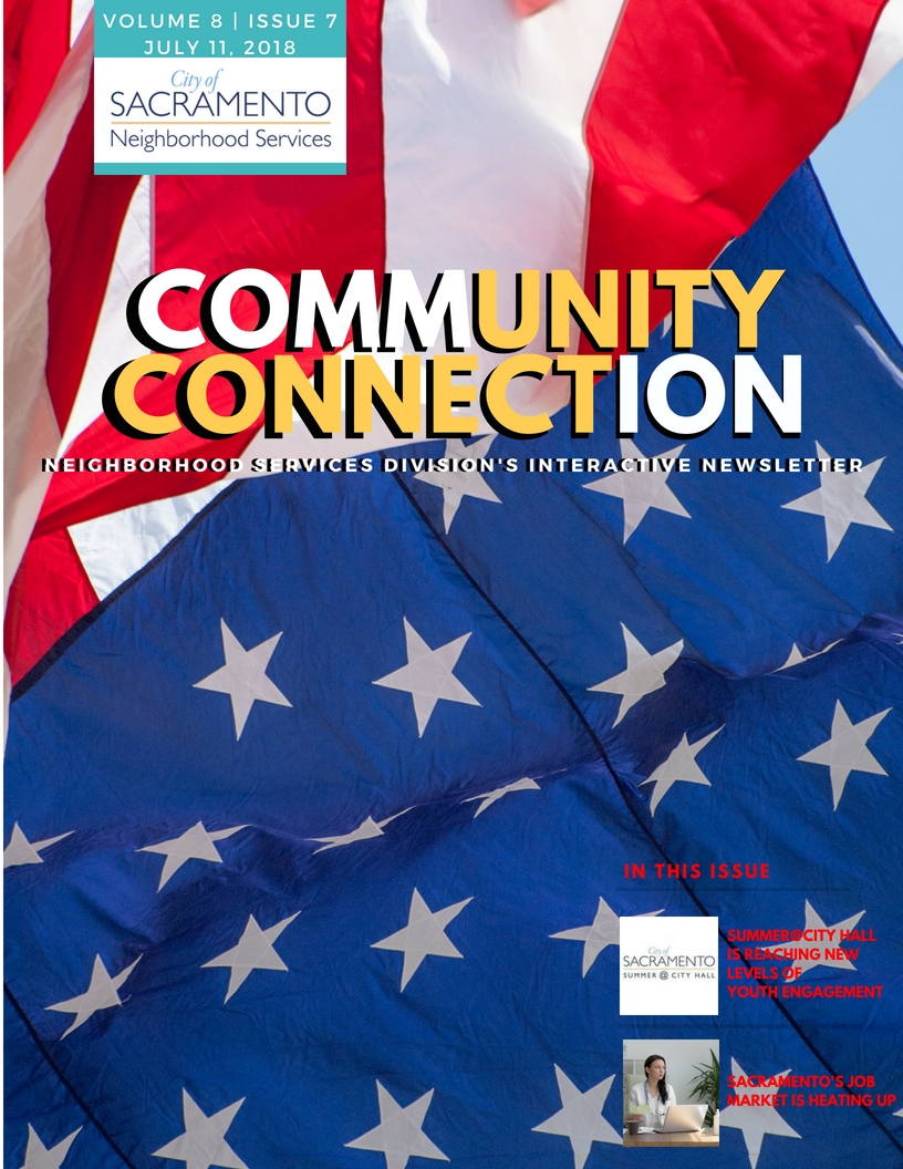 Neighborhood Services Division's Community Connection Newsletter July 2018