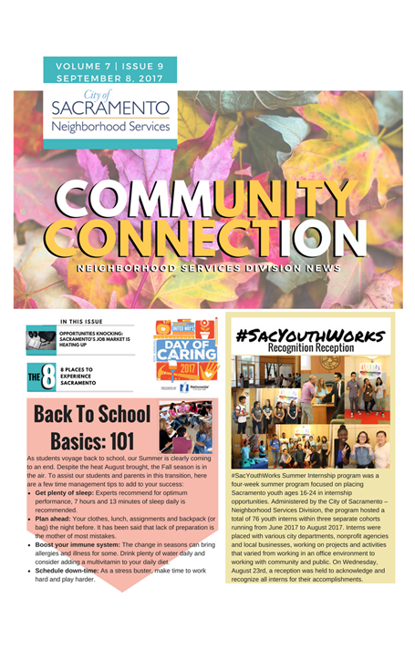 NSD Community Connection Newsletter