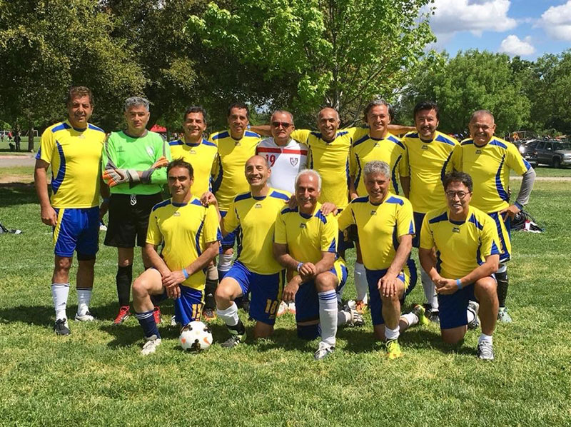 Man United Silver Winning Soccer Team - Elk Grove
