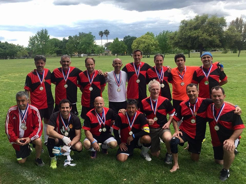 PAC Gold Winning Palo Alto Soccer Team