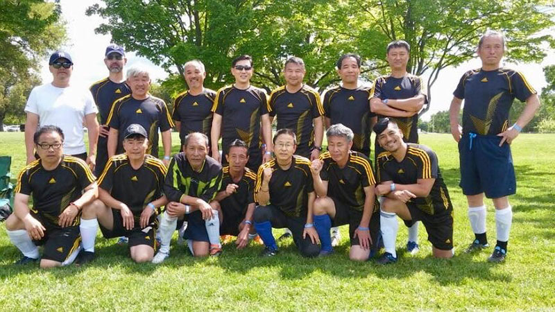 Sac Korean FC - 50 Plus Soccer - Bracket B Bronze Winning Team