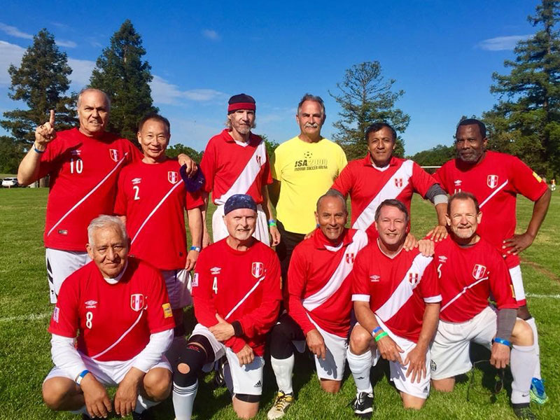 Sporting Peru Sacramento Gold Winning Soccer Team