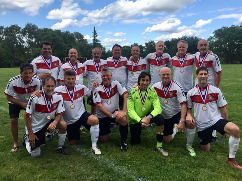 Turn Verein Bronze Winning Sacramento Soccer Team
