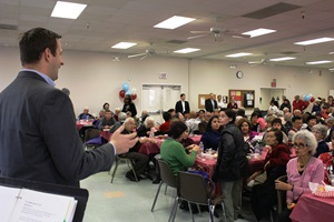 Older adults gather at Hart special event