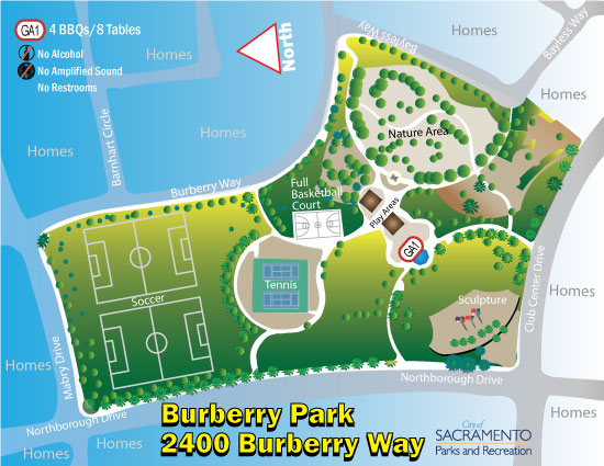 Burberry Park Amenity Guide
