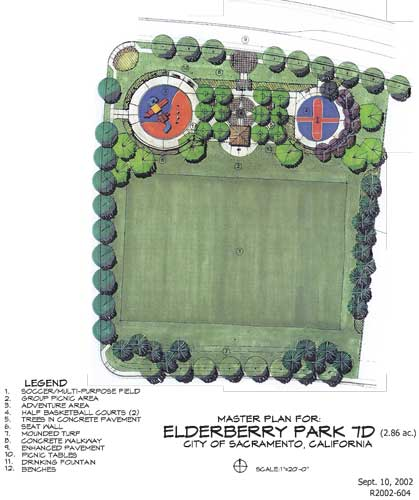 Edleberry park map