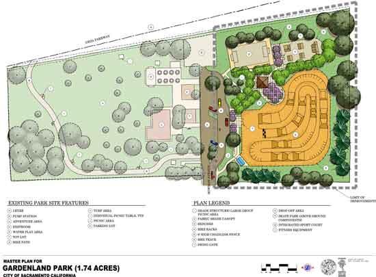 Awesome Gardenland Park Map