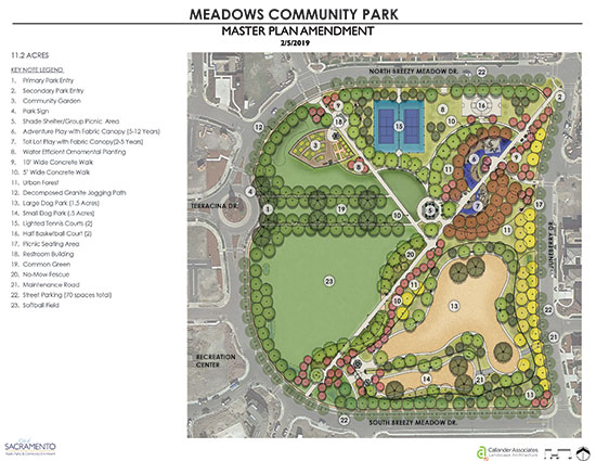 Meadows Park Master Plan Final Amendment