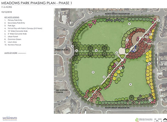 Meadows Park Phase 1 Diagram