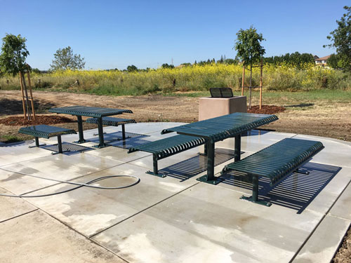 New Picnic Area at Richfield Park