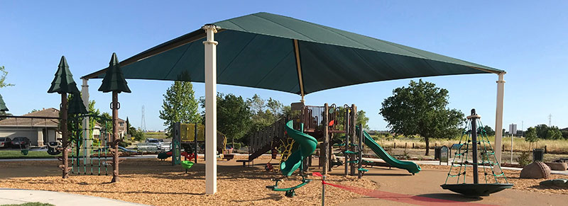 Richfield Playground with Shade Canopy
