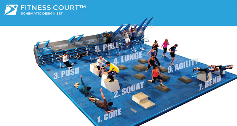 Roosevelt Park Future Fitness Court