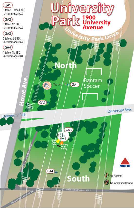 University Park North and South Amenity Guide Image link