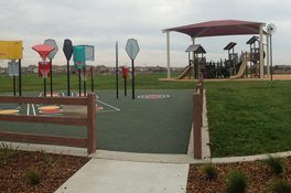 Valley Oak Park Basketball Courts