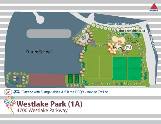 Westlake Community Map