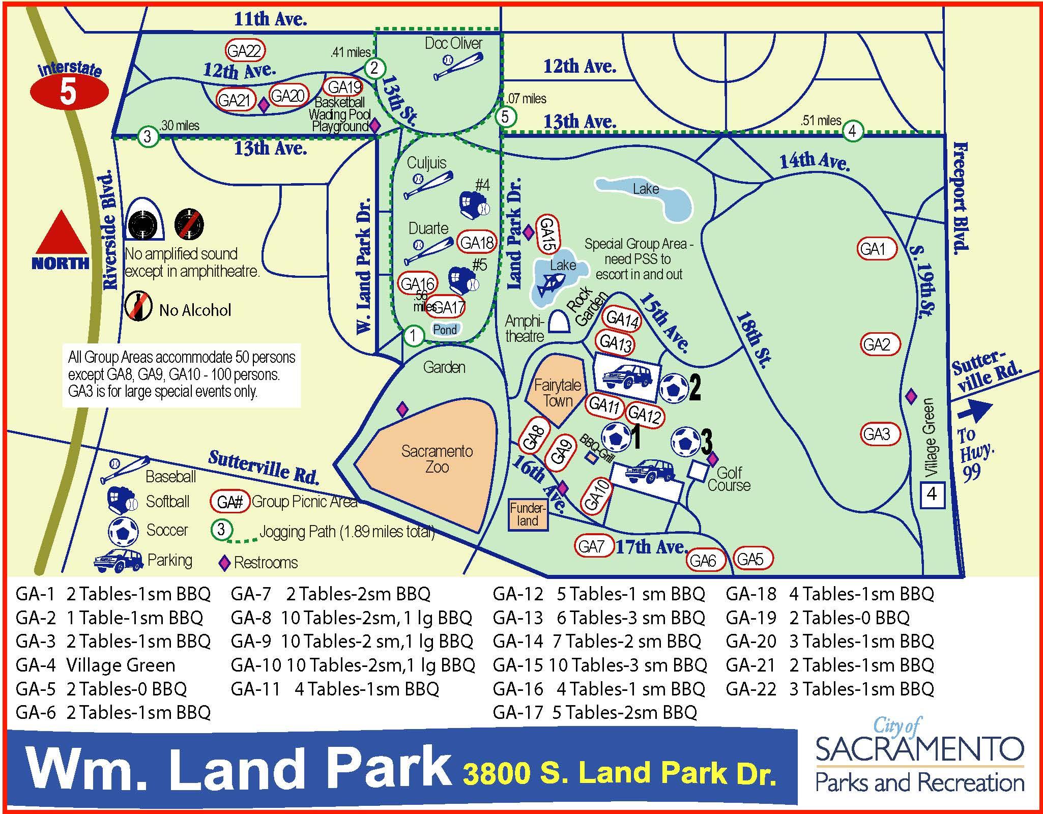 William Land Regional Park City of Sacramento