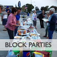 City of Sacramento block party