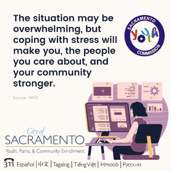 Coping with Stress will make you, and the people you care about, and your community stronger