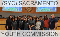 SYC Sacramento Youth Commission Button Link