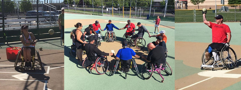 National Wheelchair Association Play for Fun Participants