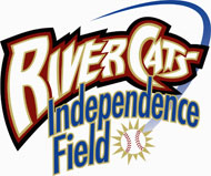 Sacramento Rivercats Independence Field logo