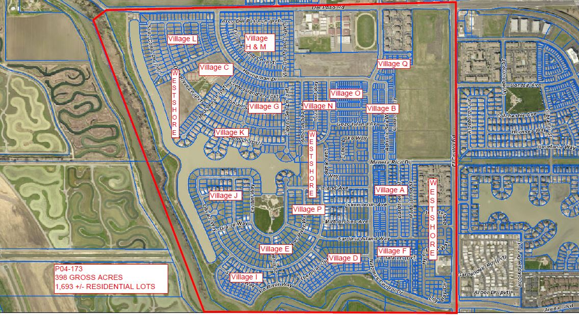 GIS Rendering of Subdivision through Final Map