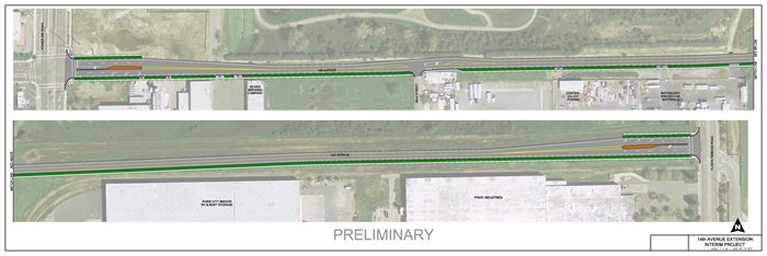 14th Ave Preliminary Layout
