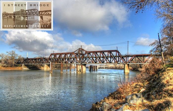 Image result for photos of new I street Bridge Sac