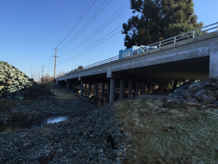 Roseville Road Bridge Replacement Over Arcade Creek