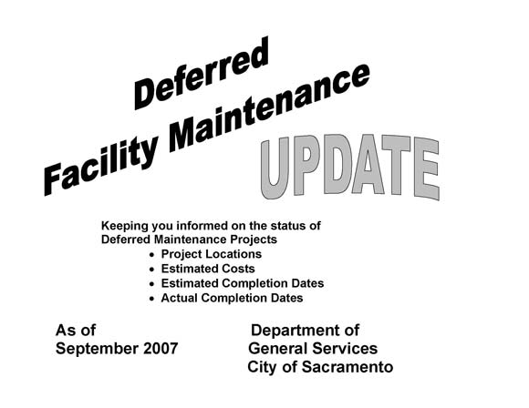 Deferred Facility Maintenance