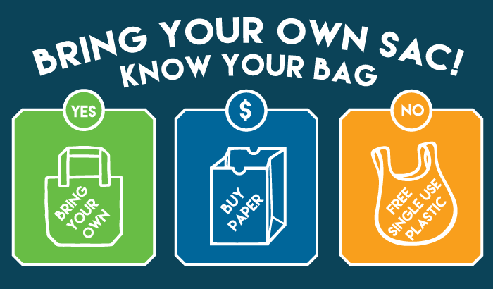 Bring Your Own Sac! Know Your Bag
