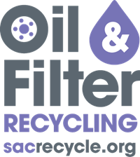 Oil and filter recycle logo