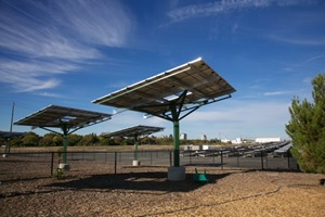 Dog Park Solar Shade Panels