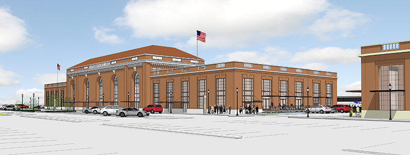 Sacramento Valley Station rendering