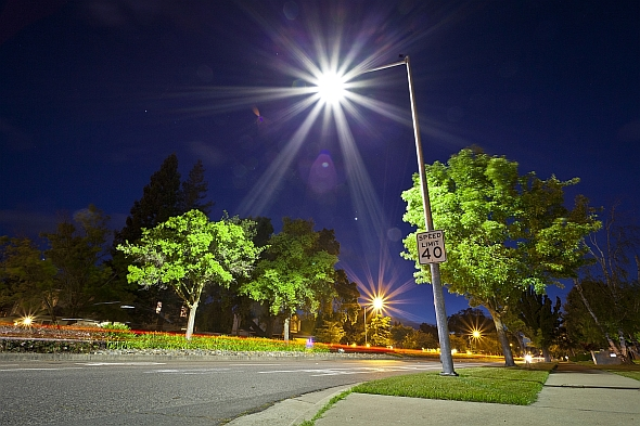 An LED Streetlight