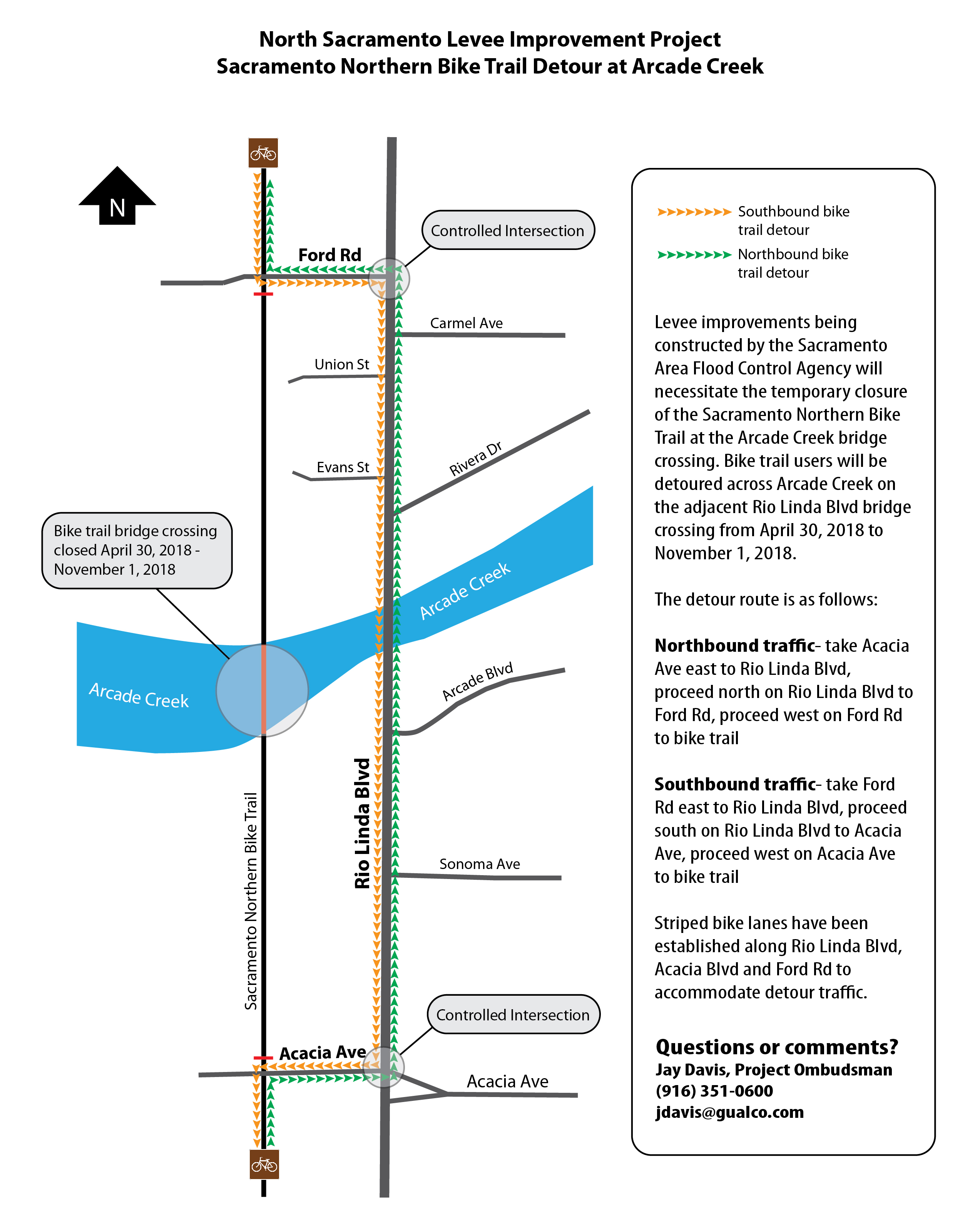 Traffic Alerts City Of Sacramento Q Meter Block Diagram Detours Will