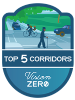 Vision Zero Top Five Study Logo