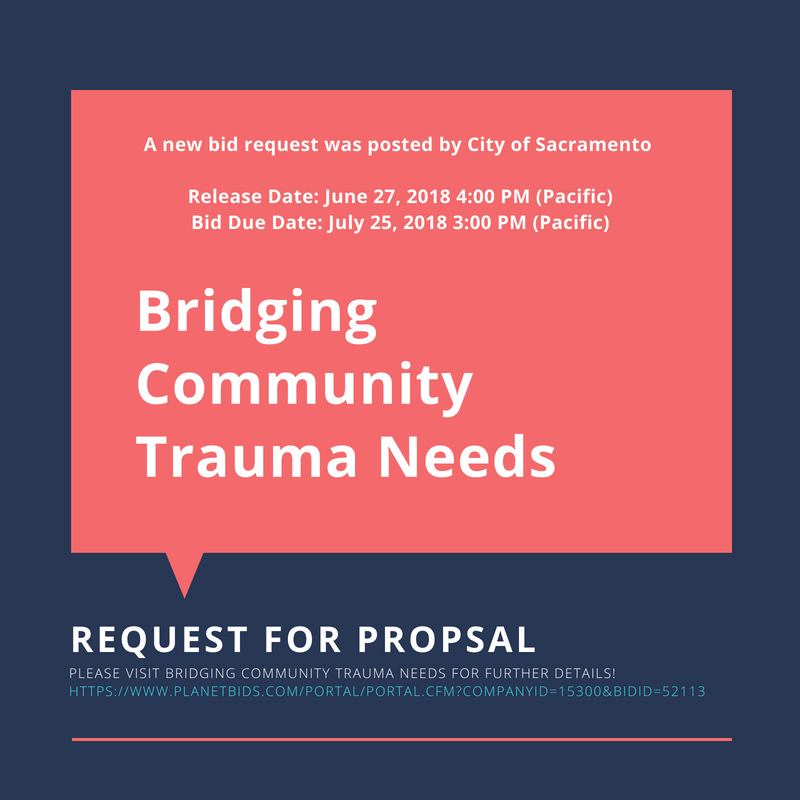 Bridging Community Trauma RFP
