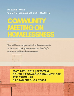 Homelessness Community Meeting