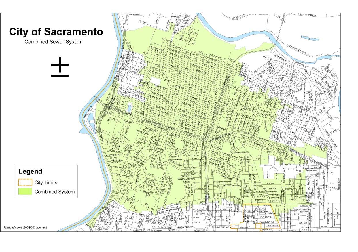 Flood Map City Of Sacramento