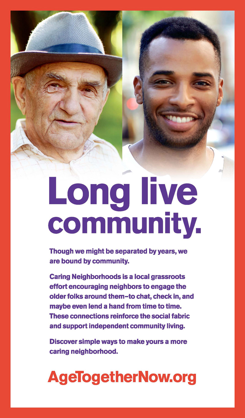 Age Together Now Aging Awareness Campaign - City of Sacramento