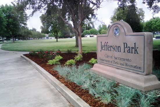 Jefferson Park City Of Sacramento